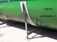 GP118 gebrauchter 50.000 L Polyestertank GFK-Tank Lagerbehälter Wassertank Regenauffangtank Rapsöltank Futtermitteltank Molketank Gülletank Sickersafttank - Nordhorn