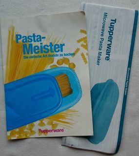 Tupperware Pasta Meister Nudelkocher matt-rot - Kahl (Main)