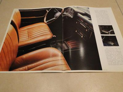 BMW Katalog 2500 und 2800 aus II/1970, 24 Seiten - Coesfeld