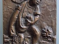 Metal-Relief Sämann (20 x 16 cm) - Münster
