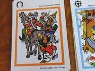 DDR Quartettspiel Münchhausens Abenteuer / Altenburger Spielkartenfabrik 1978 - Zeuthen