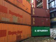 Lärmschutzwand, Schallschutzwand, Containerwand, Container - Flörsheim (Main) Zentrum