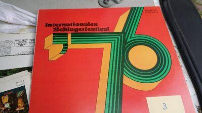 SCHALLPLATTE INERNATIONALES SCHLAGER FESTIVAL DDR - Berlin Lichtenberg