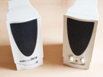 Multimedia Lautsprecher Boxen USB 2.0 f. Computer, Notebook, Laptop - Andernach