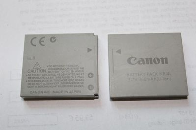 orginal Canon NB-4L Li-Ionen-Akku für IXUS-Kameras - Bad Belzig Zentrum