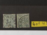 Würtemberg Ziffern Pfennig 1894-1904,Mi.Nr.2x60,Lot 45