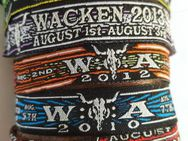 Wacken Festival WOA Bändchen Wristband Open Air 2019 Band 8 - Nienburg (Weser)