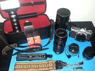 Olympus OM-1 MD Spiegelreflex-Kamera mit viel Zubehör - Hamburg
