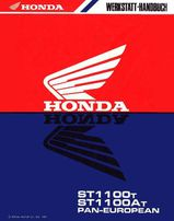 Honda Pan Euro Pean ST 1100 Werkstatthandbuch - Nachtrag