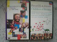 Pavarotti & friends Meat Loaf Zucchero Elton John Eric Clapton Sting Andrea Bocelli Bryan Adams etc. 4 VHS Videos Videokassetten zus. 9,- - Flensburg