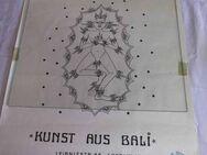 Plakat FOLKGALERIE Berlin Kunst aus Bali 02.12.1976 - 07.01.1977 / Sammler - Zeuthen