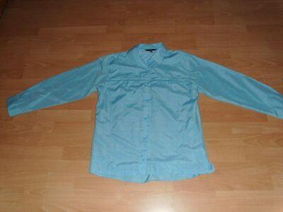 Bluse von TCM, hellblau kariert, Gr. 44/46 NEU - Bad Harzburg