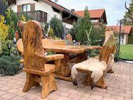 Garten und Terrassen Möbel. Rustikal und Einzigartig - Achern