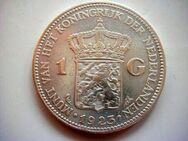 1 Gulden 1923+1924 Niederlande,Wilhelmina  720er Silber,Lot 852 - Reinheim