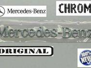 1X ORIGINAL MERCEDES BENZ EMBLEM SCHRIFTZUG CHROM TUNING NEU - Dortmund Wickede