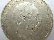 5 Mark Kaiserreich Sachsen,Albert 1875-E,Lot 838 - Reinheim