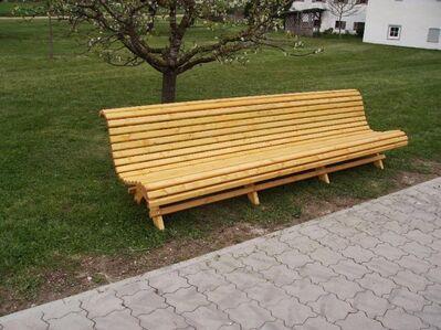 Hollywoodschaukel Gartenschaukel  3 Sitzer Fichte massiv - Tyrlaching