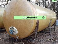 P74 gebrauchter 18.000 L Polyestertank GFK-Tank Wassertank Regenauffangtank Zisterne Lagertank Flüssigfuttertank Molketank Melassetank Rapsöltank Gülletank - Nordhorn