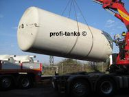 T2 Stahltank 60.000 L innen beschichtet Lebensmitteltank Molketank Melassetank Futtermitteltank Wassertank Regenauffangtank - Nordhorn