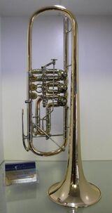 J. Scherzer Profiklasse Konzert - Trompete 8218 W mit Überblasklappe, Neuware