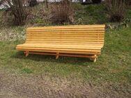 Gartenbank  fertig lasiert HANDARBEIT Länge ca 2,5 m - Tyrlaching