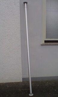 IKEA-Stolmen-Teleskopstange silber, i. gt. Zustand - Simbach (Inn)