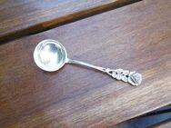 Zuckerzange, Zuckerlöffel, Sahnelöffel - Antiko 800 Silber - Gelsenkirchen Buer