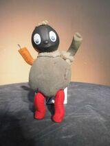 Alte Pittiplatsch Puppe / DDR Sandmann / Kinder Figur / Ostalgie Sammler Kult