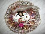Sehr schöne Originale Venezianische Maske aus Porzellan: