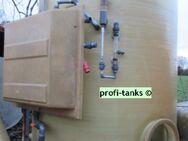P52 - Polyestertank 6-10 m³ GFK-Tank Mischtank Soletank inkl. Mischstation Mischbehälter Reichtank stehend - Nordhorn