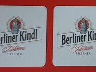 Berliner Kindl - Jubiläums Pilsener Bierdeckel BD Bierfilz - Nürnberg