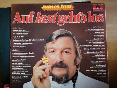 James Last - Auf last gehts los - LP Vinyl - Plettenberg