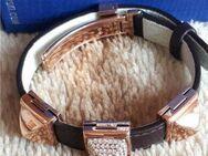 Swarovski Armband Tactic 5017076 Leder braun rosegold UVP 119 € - Frankfurt (Main) Zeilsheim