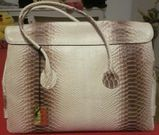 """3 exklusive Leder-Handtaschen """"Maiani"""", beige, rosa, hellblau, neu"""