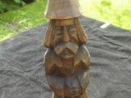 Holz Figur 23 cm Skulptur handgeschnitzt Deko Vintage Retro 12,- - Flensburg
