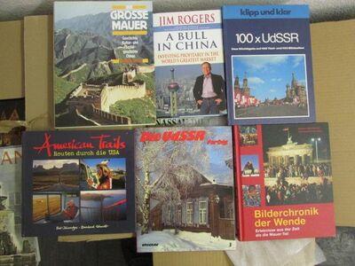 Bildbände (ca. 120 + X = 4 Kisten) hauptsächlich Reisebildbände - Finnentrop