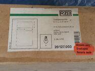 RZB 05-20127 Ersatzglas 190x190x86 Opal weiß neu OVP - Berlin