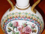 Beinglasvase - wertvolle alte Vase aus Niederbayern / Böhmen Alabasterglas Milchglas opakes Weißglas in Landsberg (Lech) - Landsberg (Lech)