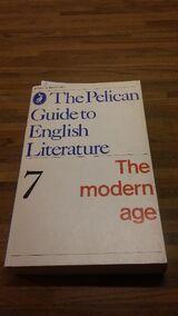 The Pelican Guide to English Literature - 7 (The modern Age). Broschiertes Taschenbuch v. 1970 (englischsprachig). Penguin Books Ltd.