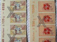 Konvolut alter Bezugs-Reisemarken von 1948, franz. Zone - Niederfischbach