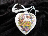 Hutschenreuther limitiertes Porzellan Herz / Das Herz 2001 / Ole Winther - Zeuthen