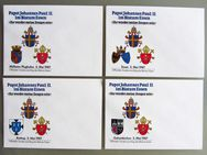 4 Sonderumschläge Papstbesuch 1987 Bistum Essen - Münster