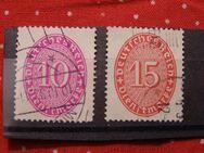 DR-Dienstmarken Ziffern,1929,Mi:Nr.123-24 ,  Lot 410