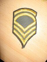 Rangabzeichen Sergeant First Class USAF: