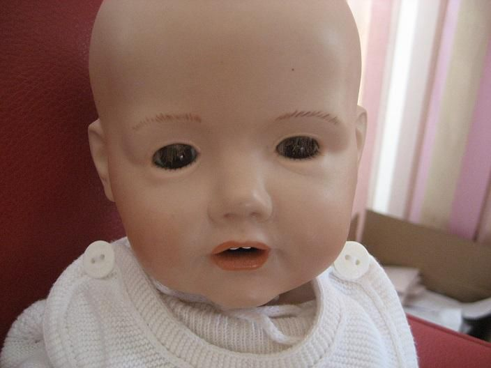 JDK Hilda Baby Repro, Real Seeley Body USA 1999, 40 cm - Baunatal