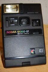 Sofortbildkamera Kodak EK 160 - EF / defekt - Sammlerobjekt - Ersatzteilspender