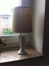 Tischlampe Keramikfuß