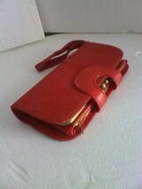 Geldbörse in rot, neu, unbenutzt