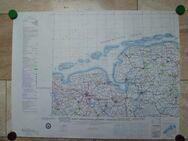 Landkarten 1:250000 Hersg. Militärgraphisches Amt Vintage - Aachen