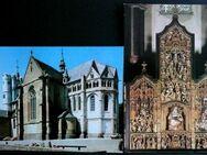 2 Ansichtskarten der Stiftskirche St. Martinus und St. Severus - Niederfischbach